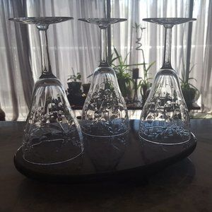 Crystal goblet wine glasses champagne stemware
